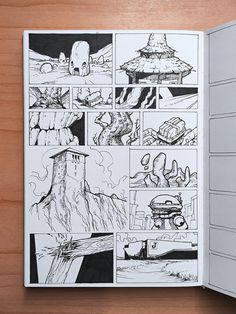 Sketchbook Project, Arte Sketchbook, Card Drawing, Comic Drawing, Graphic Novel Art, Art Diary, Sketch A Day, Pen Art, Comic Art