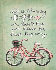 Keep on moving....love it.