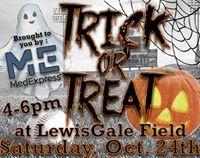 Trick-or-Treat 24 October at 16:00 Lewis-Gale Field at Salem Memorial Ballpark· Buy