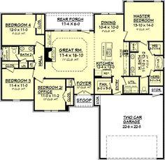 Perfect!!   142-1072: Floor Plan Main Level