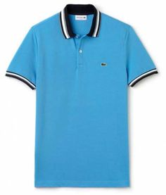 e66ef9ec Lacoste clearance, Lacoste Slim Fit Polo Pique shirts Spa Blue Men´s  clothing, Lacoste vneck sweater various styles