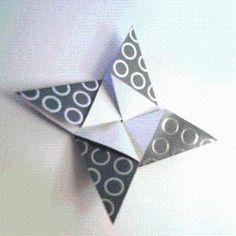 DIY Origami: DIY Origami Star Instructions