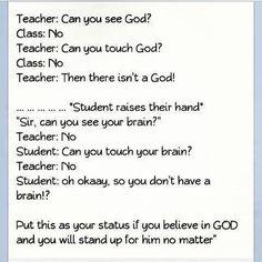 God vs Brain