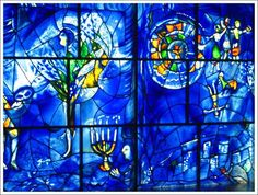 I've been thinking about these windows for days.  (American Widows, Marc Chagall- at the Art Institute of Chicago).