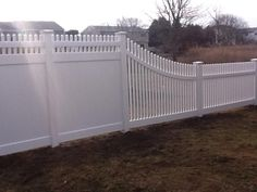 back to front fence transition