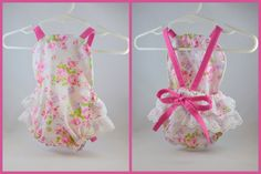 Newborn Old Fashioned Roses Floral Romper  by StewiecakesBoutique
