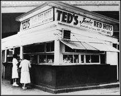 My first restaurant (the original) as a youngster...still love Ted's Hot Dogs!!!  (even though they are not healthy!!)
