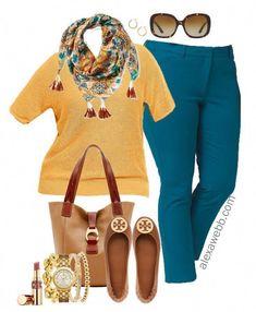 5e07c3298e788 Plus Size Fall Transition Work Outfit - Plus Size Fashion for Women -  alexawebb.com