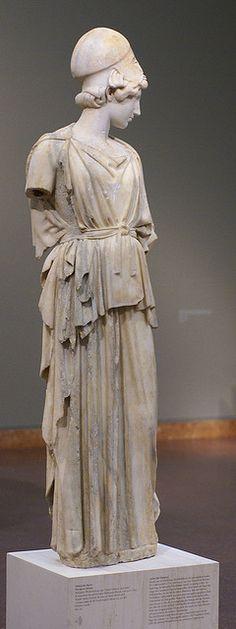 Frankfurt, Liebieghaus, Römische Kopie der Athena des Myron (Roman copy of Myron's Athena)