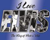 Elvis Love Placa de lata