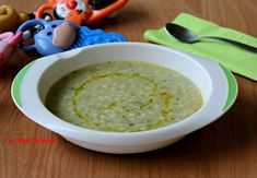 Jelly with courgettes and potatoes MAM& baby Pappa con zucchine e patate Potato Recipes, Baby Food Recipes, Pasta Recipes, Baby Feeding Pillow, Prosciutto, Cheeseburger Chowder, Kids Meals, Jelly, Zucchini