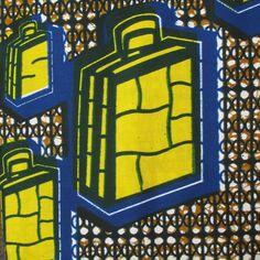 African Wax Print Fabric #193