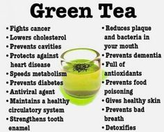 The Many Benefits of Green Tea Extract I take 40 drops of green tea extract in a mug of hot water every morning...