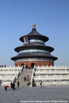 Temple of Heaven, Beijing, China  Been here, luv it.