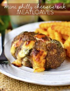 Mini Philly Cheesesteak Meatloaves are a fun and gluten-free dinner recipe both kids and adults will love! Whelp, all the kids around here are officially back in school as of today, which means my ...