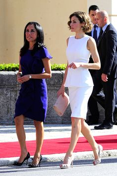Charlotte Casiraghi, Duchess Kate and Queen Letizia: A gallery of the week's best royal style - Foto 8