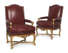 date unspecified A PAIR OF RÉGENCE GILTWOOD FAUTEUILS FIRST QUARTER 18TH CENTURY Estimate  12,000 — 18,000  USD  LOT SOLD. 12,500 USD (Hammer Price with Buyer's Premium)