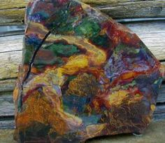 Coat Of many Colors Kaleidoscope Jasper Minerals And Gemstones, Crystals Minerals, Rocks And Minerals, Stones And Crystals, Gem Stones, Natural Gemstones, Cool Rocks, Beautiful Rocks, Rock Hunting
