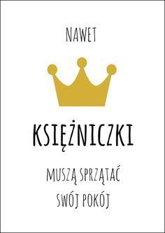 darmowe plakaty dla dzieci Jewish Crafts, I Am A Queen, Bullet Journal Ideas Pages, Kids And Parenting, Motto, Texts, Haha, Kids Room, Poster Prints