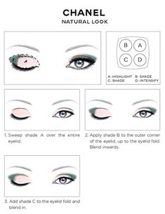 Shaded Eye Makeup Chanel Eye Makeup Chart How To Wear Chanel Les 4 Ombres Eye Shadow Shaded Eye Makeup Prism Palette Holiday Eyeshadow Palette Anastasia Beverly Hills. Shaded Eye Makeup Double Shade Eyeliner Tutorial B G Fashion. Makeup Guide, Eye Makeup Tips, Beauty Makeup, Makeup Style, Chanel Makeup Looks, Makeup Ideas, Dewy Makeup, Beauty Tips, Beauty Products