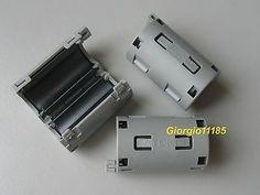 2 Pcs TDK 11mm Clip-on RFI EMI Filter Ferrite #Affiliate