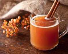 Spiced tea for those chilly nights.