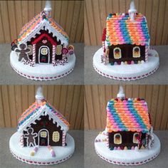 Completed Crocheted Gingerbread House - Media - Crochet Me