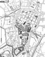 Plany miasta Krakowa na przestrzeni wieków oraz dawne widoki Krakowa