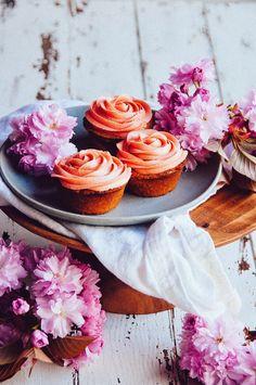 Cupcake fraise citron