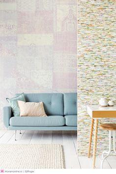 1000 images about wandddecoratie eijffinger wallcoverings behang on pinterest interieur - Deco interieur eigentijds ...