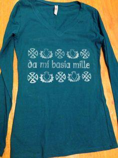 Outlander Da Me Basia Mille Shirt by LunaLovegoodIsOk on Etsy, $18.00