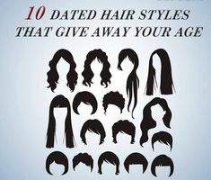 10 Dated Hair Styles That Give Away Your Age and Retro Bob, Feathered Bangs, Helmet Head, Hair Tuck, Aging Quotes, Mullets, Perm, Wavy Hair, Poodle