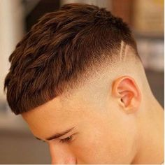 French Crop Haircut French Crop with High Fade Medium Hair Cuts, Short Hair Cuts, Medium Hair Styles, Short Hair Styles, Hairstyles Haircuts, Haircuts For Men, Natural Hair Shampoo, Faded Hair, Hair Issues