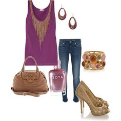 cute weekend look - love the peep toe shoes and colorful bracelet!