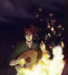 Young Kvothe by Anna / acicco.deviantart.com | LIKE Eolian Taven on Facebook at www.facebook.com/eoliantavern!