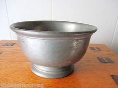 vintage pewter bowls - Google Search