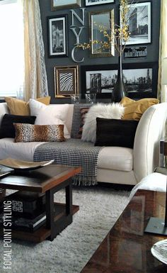 Gray Yellow Gold - sublime-decor.com
