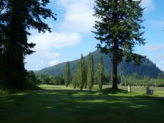 Situated in the foothills of Mt. Rainier, the Enumclaw Golf Course (WA) is a picturesque course with tall trees, rolling hills and lots of water on the back nine. #wagolf #enumclawwa