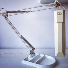 """Polubienia: 1, komentarze: 1 – modern (@modern_old2new) na Instagramie: """"Massive Belgian desk lamp #massive #belgian #belgium #white #anglepoise #metal #plastic #shade…"""" Desk Lamp, Table Lamp, Mid Century Modern Lamps, Anglepoise, Belgium, Mid-century Modern, Iron, Shades, Plastic"""