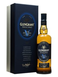 A limited edition Glen Grant specially blended by Master Distiller Dennis Malcolm to celebrate his five decades with the distillery.  A marriage of a selection of Dennis's favourite casks from the ...