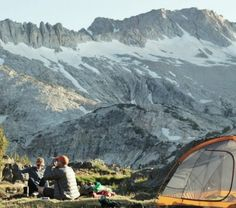 Camping with kids: Tip #2 lower your expectations.