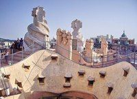 Дом Мила в Барселоне, Испания