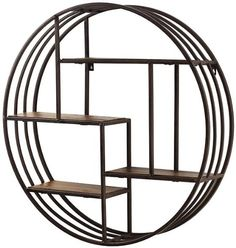 "89.00 + 10 shipping - Amazon.com : Volos Metal Wall Rack, 27.5""Hx6.5""W, DARK BROWN : Message Boards : Home & Kitchen"