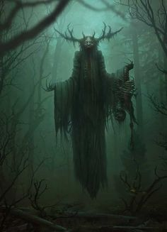 Morbid Fantasy — Leshen – The Witcher fan art by Ivan Roujev Elfen Fantasy, Final Fantasy Art, Dark Fantasy Art, Fantasy Artwork, Fantasy Forest, Space Fantasy, Medieval Fantasy, Monster Concept Art, Fantasy Monster