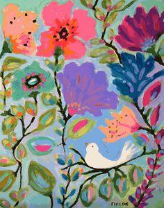 Nursery Art Print - Oh So Early- Print by Karen Fields 11 x 14. $24.00, via Etsy for kelsey's room