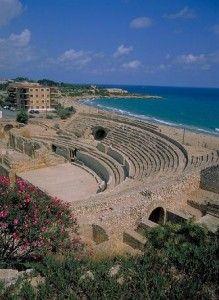 Roman amphitheatre by Luke Robinson. Tarragona, Spain