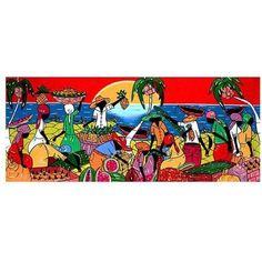 Trademark Fine Art Full of Life Canvas Art, Size: 14 x 32, Multicolor