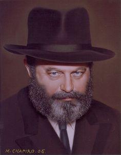 Rebbe Schneerson by Mikhail Chapiro