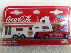 Marjorie die cast Coca Cola camping car.