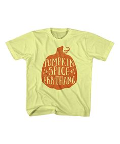 Look at this Banana 'Pumpkin Spice Err-Thang' Tee - Toddler & Kids on #zulily today!
